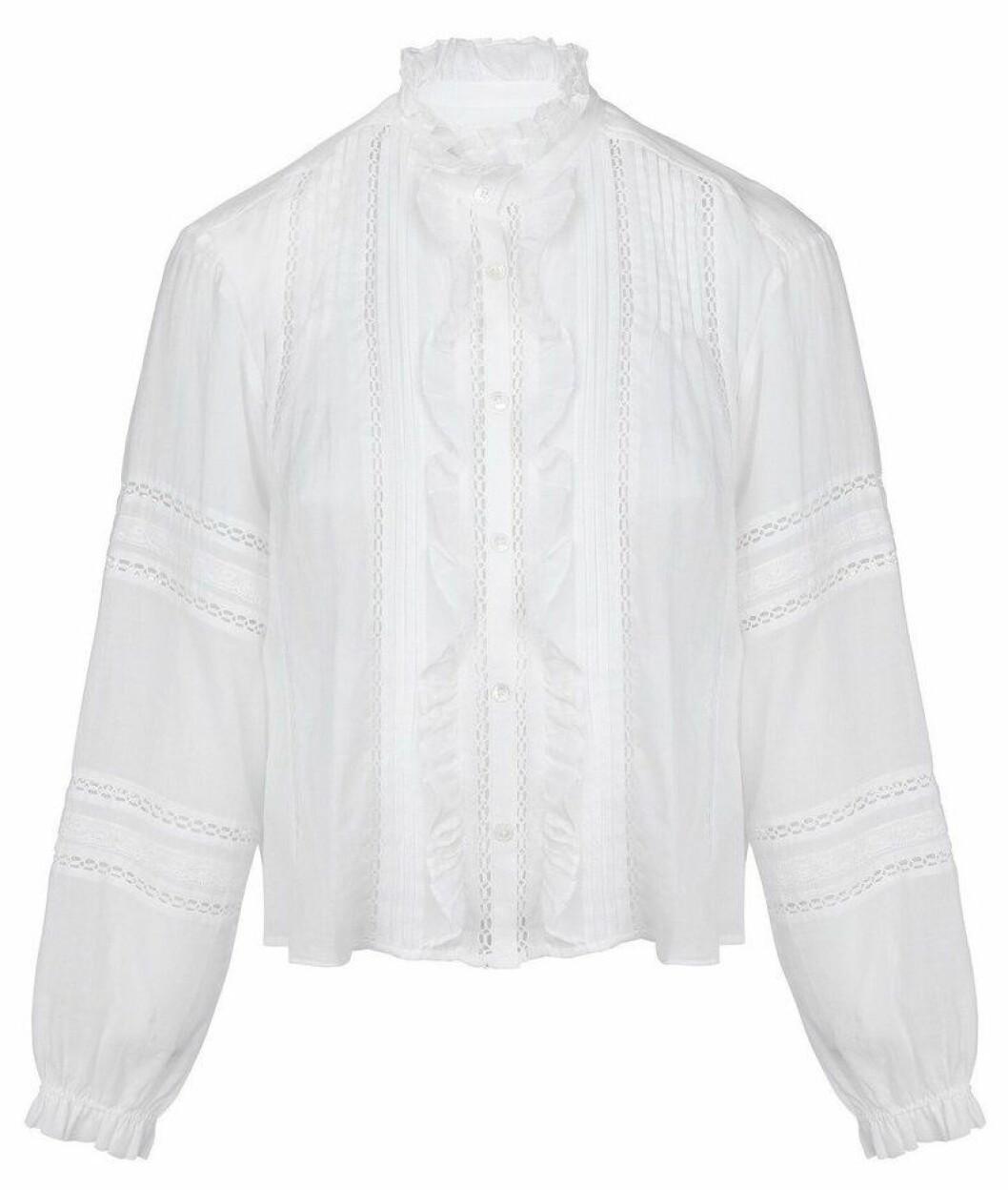 vit blus från Isabel Marant Étoile.