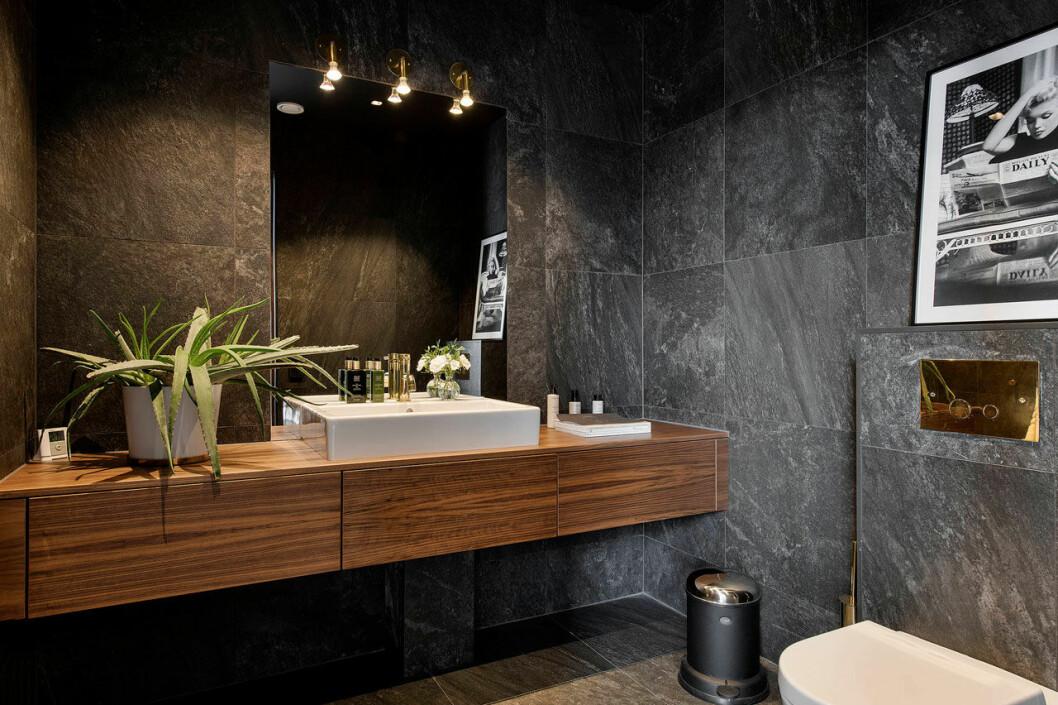 Isabella Löwengrip säljer sin lyxvilla – här är bild på badrummet