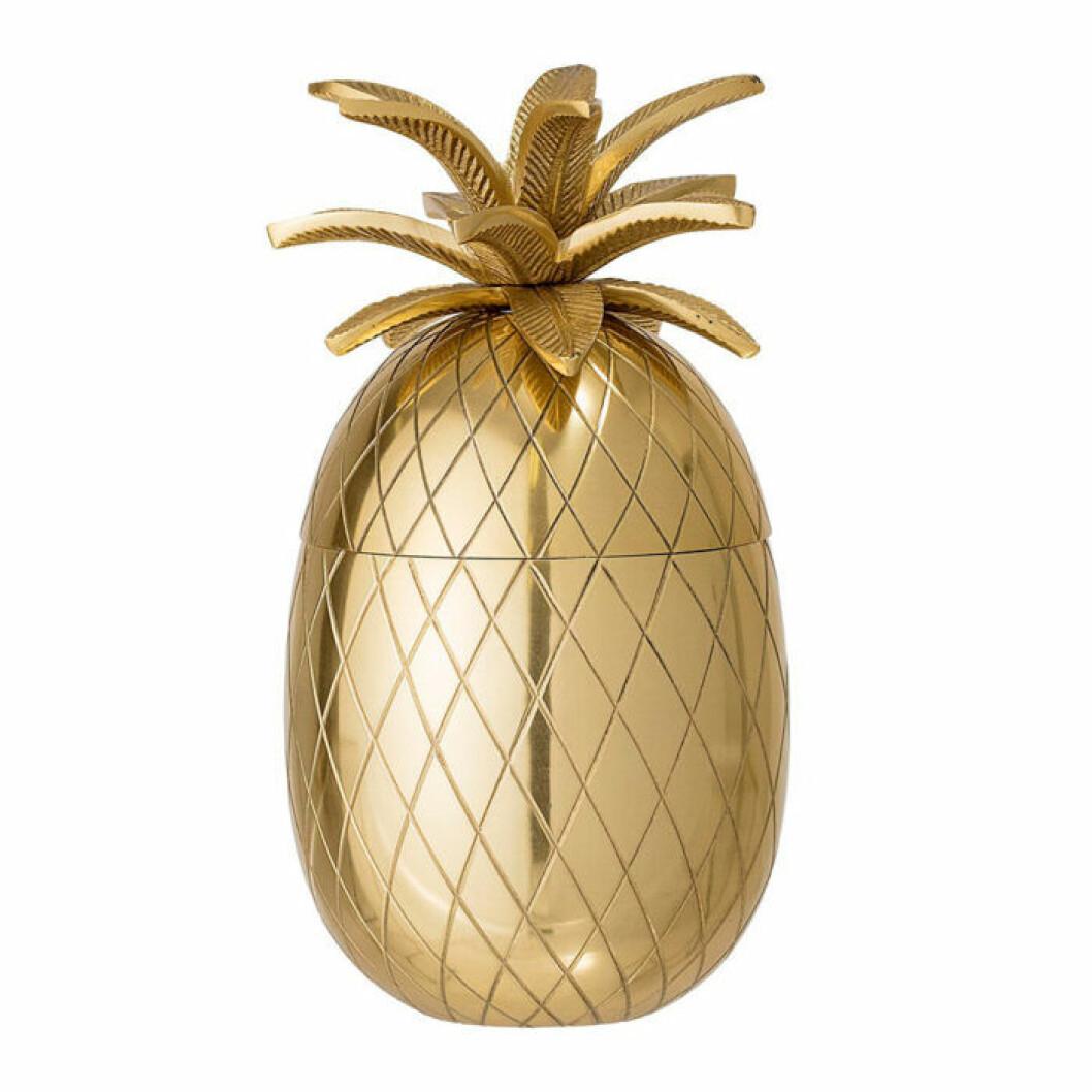 Ishink i form av en ananas