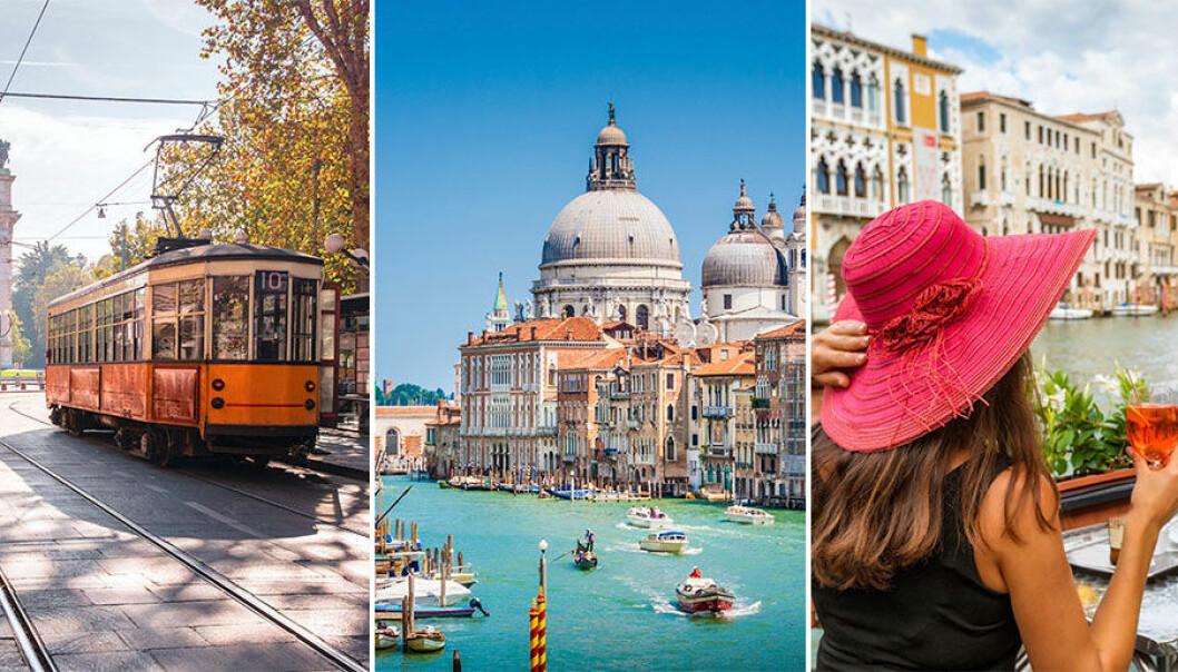 Åka tåg genom Italien på semestern