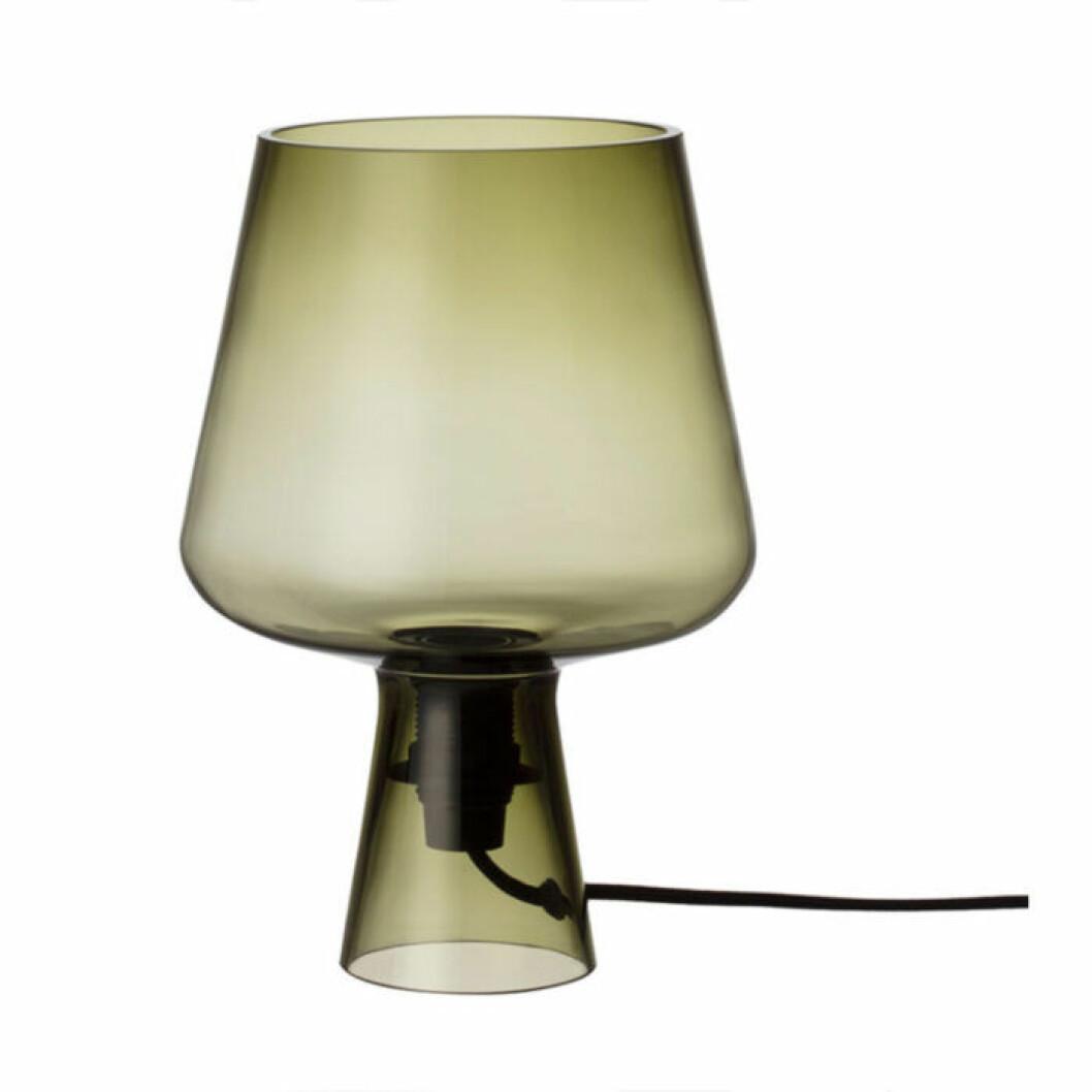 grön glaslampa från intala
