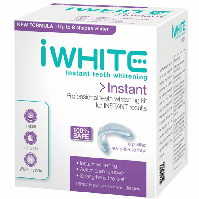 iwhite instant teeth whitening recension betyg omdöme