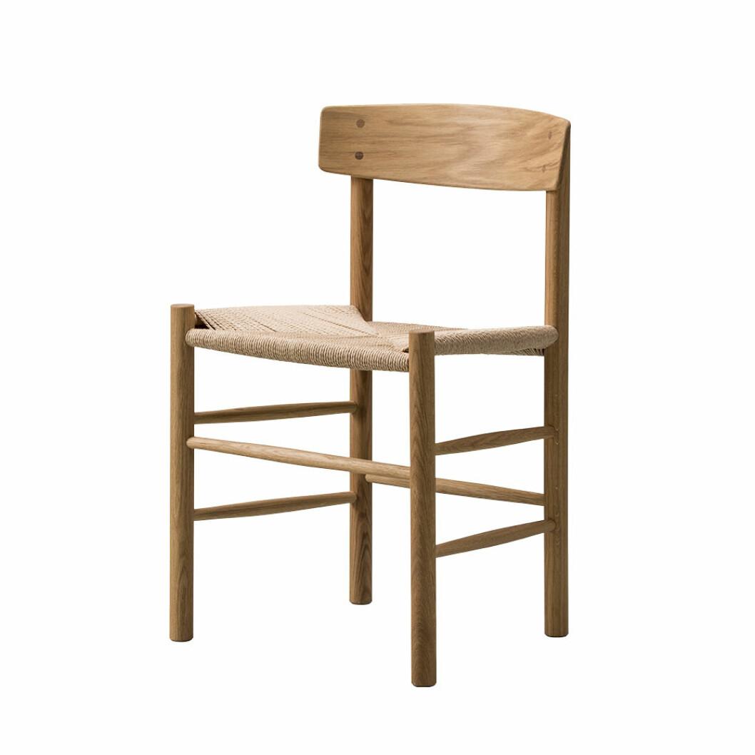 J39 stol i trä från Fredericia furniture