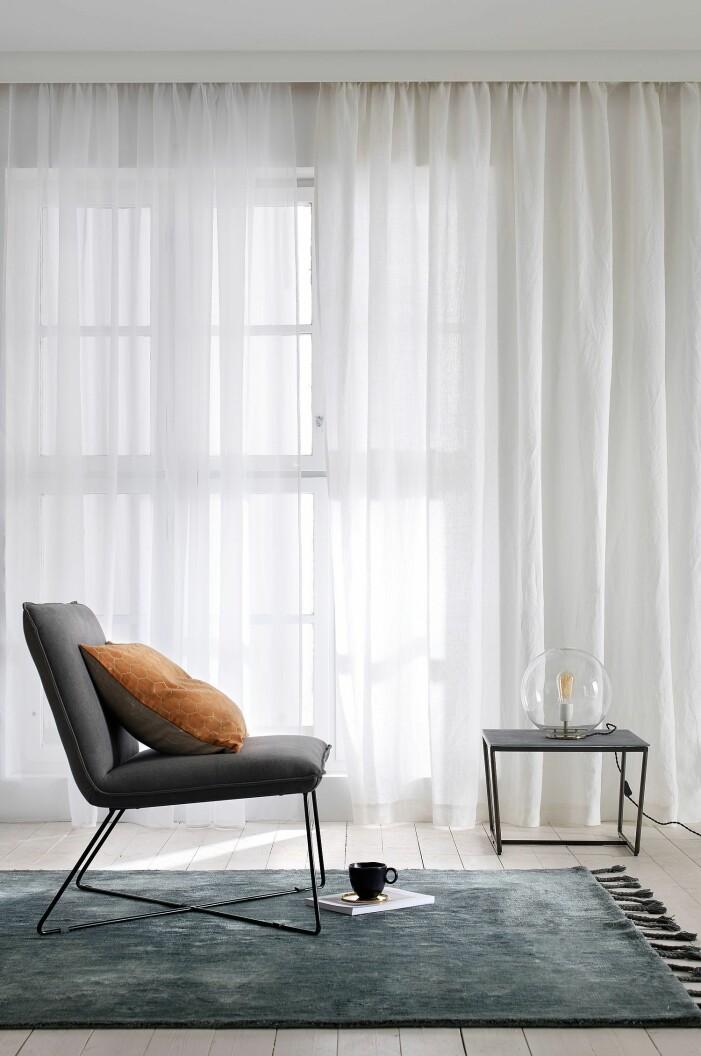 skärma av med gardiner hemma