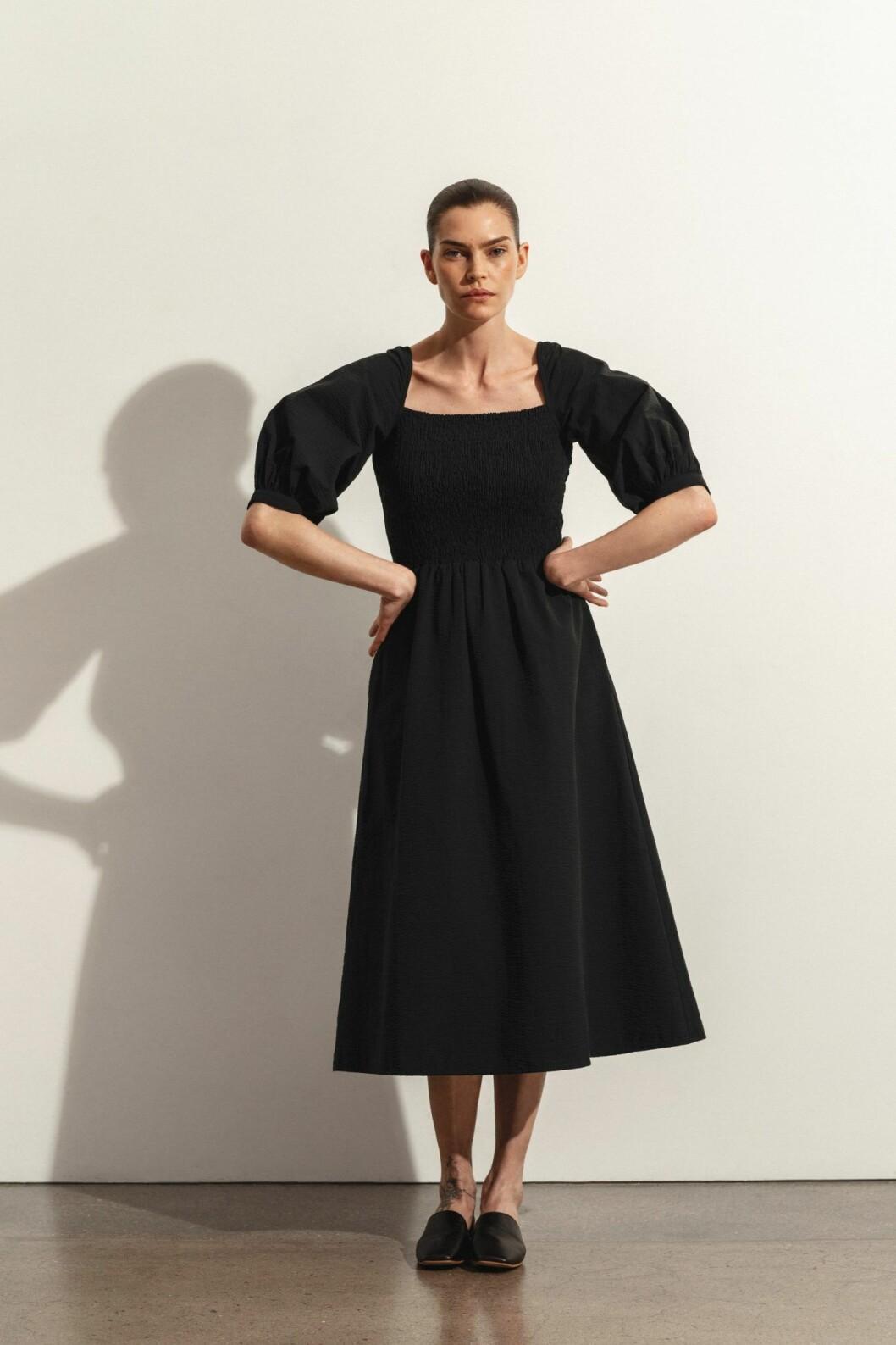 Stylein Jacintha klänning i svart