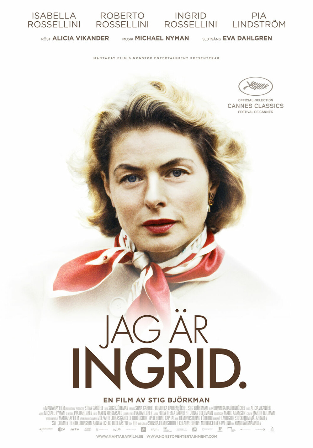 Omslaget på Jag är Ingrid