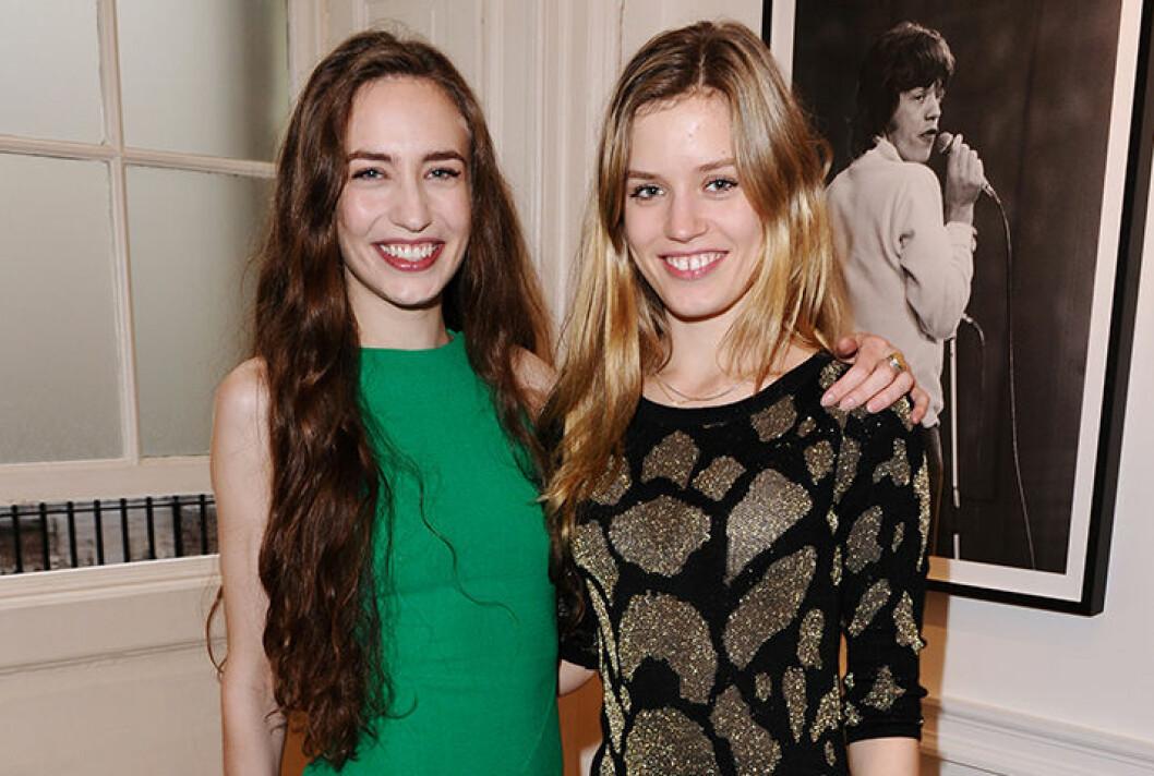 Elizabeth & Georgia May Jagger