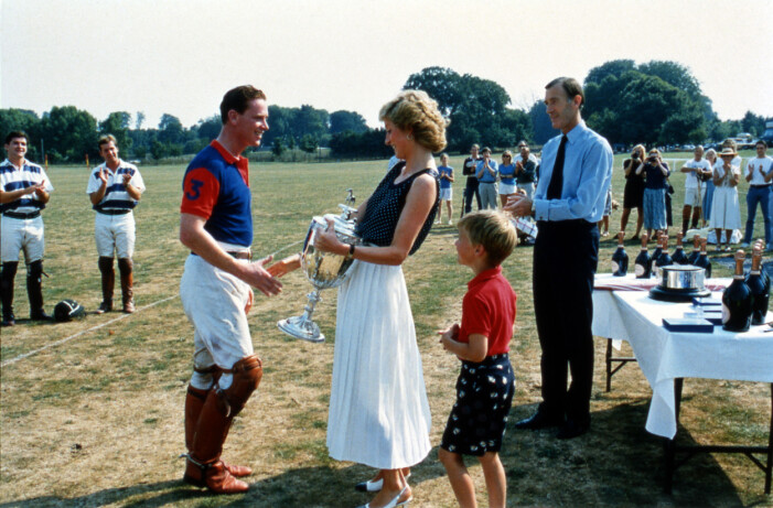 James Hewitt och prinsessan Diana