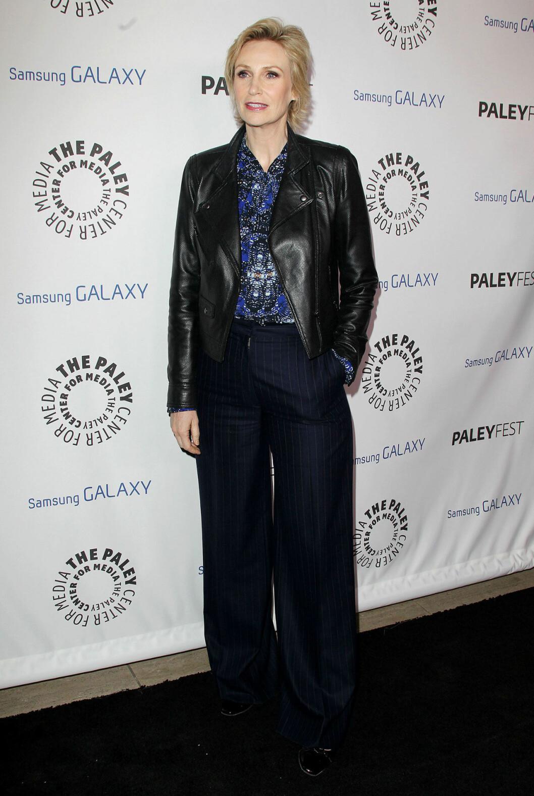 Jane Lynch på röda mattan