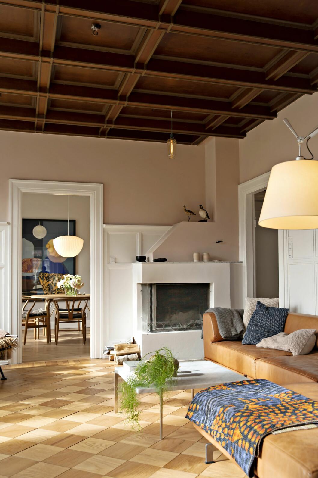 Vardagsrum i villa i Skagerak