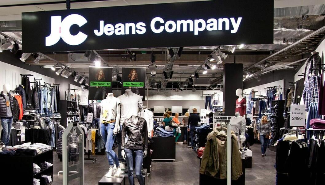 JC Jeans Company går i konkurs.