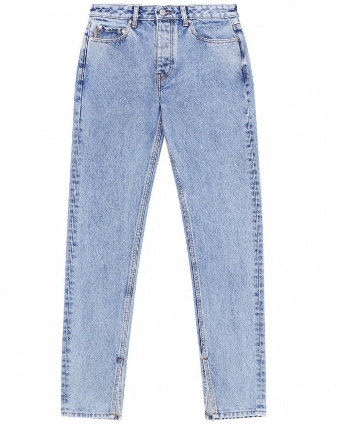 jeans med slits