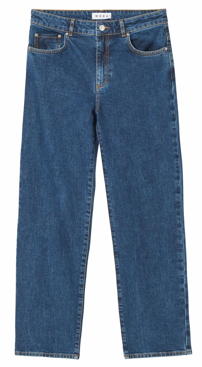 Jeans i rak modell från Wera.