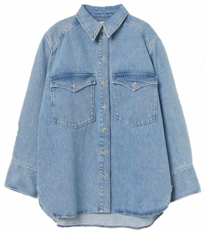 jeansskjorta hm
