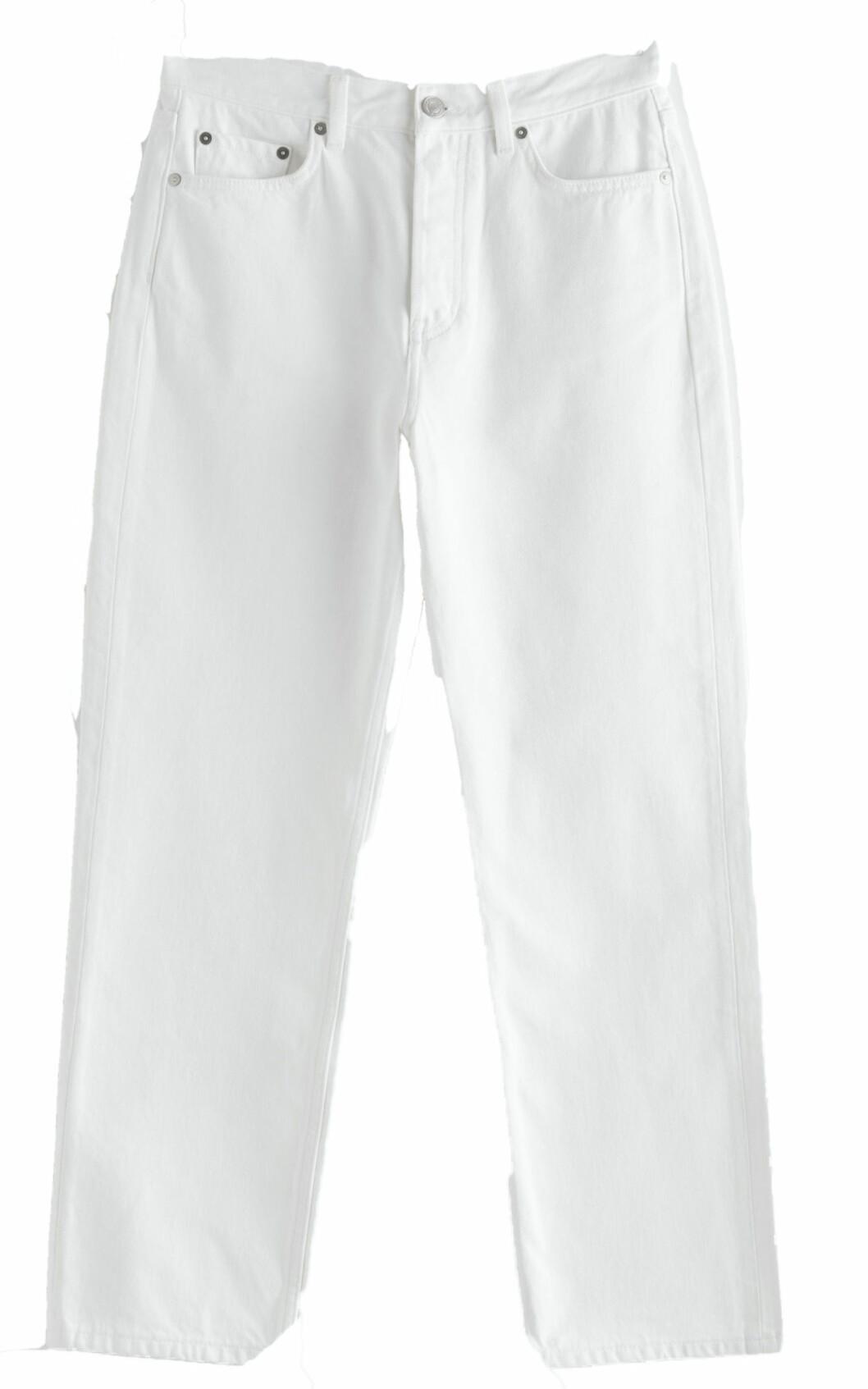 Vita jeans från & Other stories.
