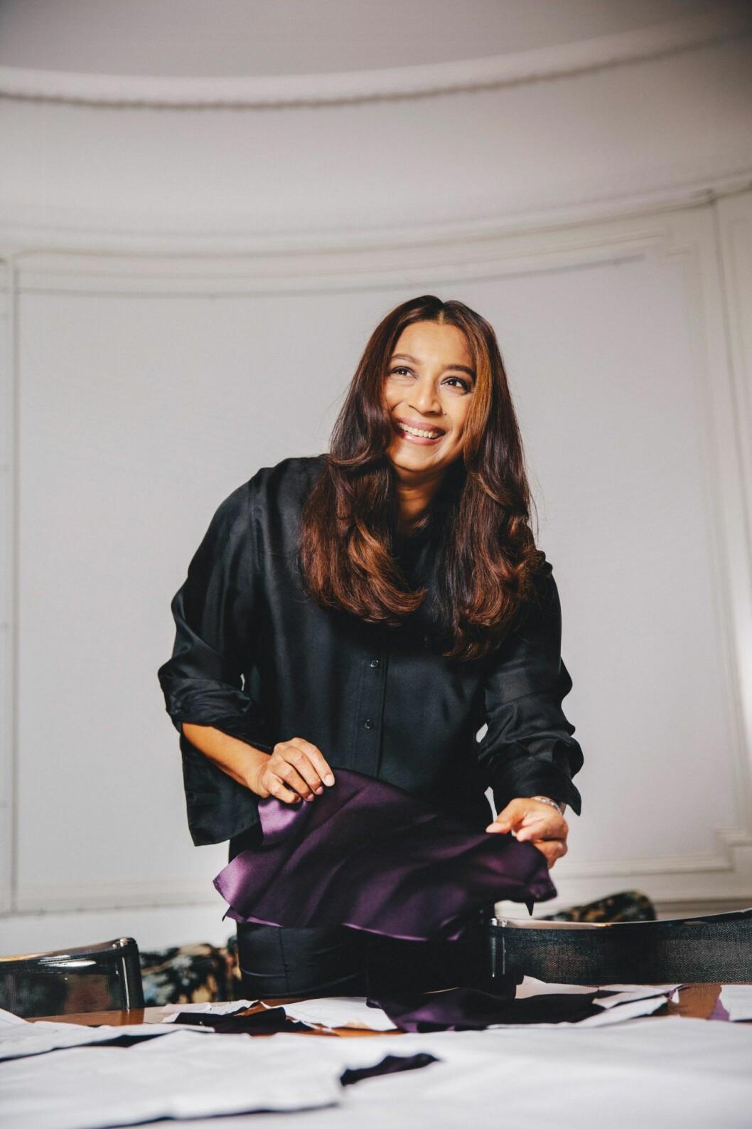Jennifer Blom i intervju i ELLE