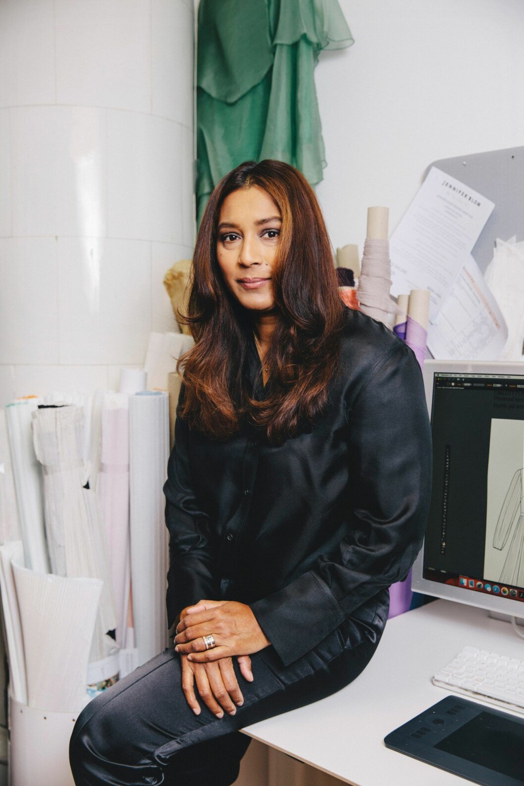 Designern Jennifer Blom, Årets Designer på ELLE-galan 2019