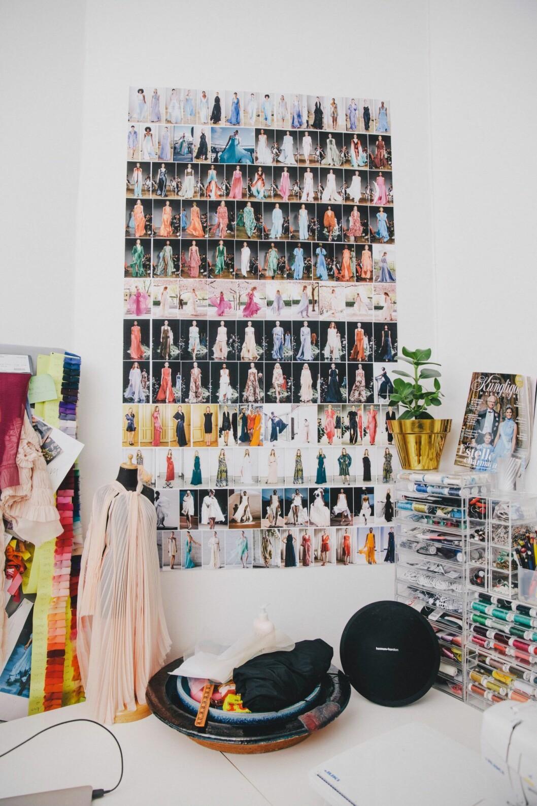 Inne i Jennifer Bloms studio