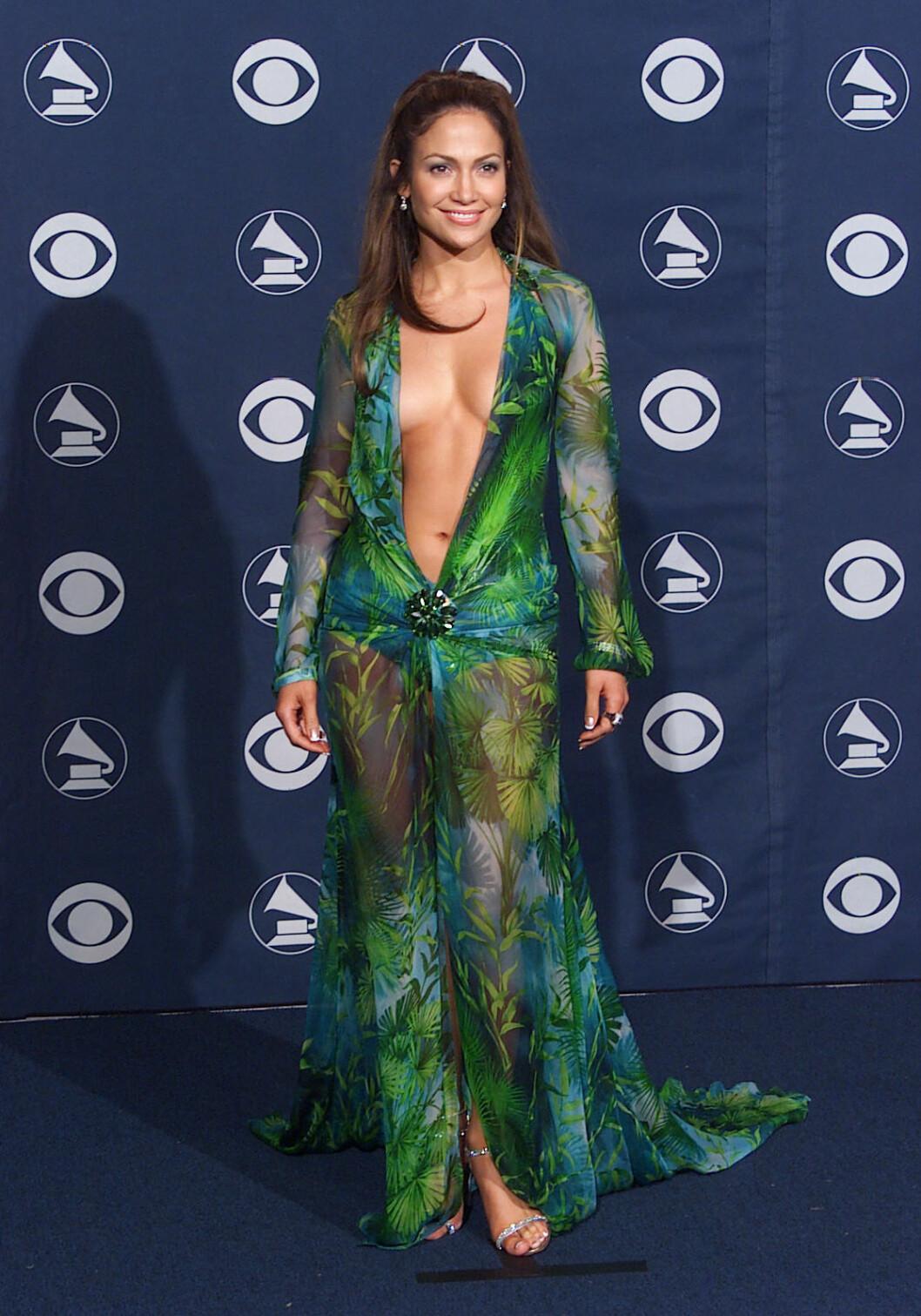 Jennifer Lopez Grammy 2000