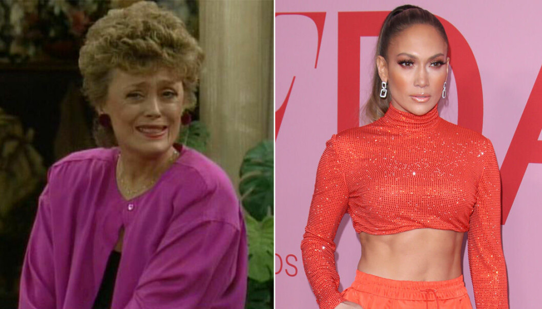 Jennifer Lopez och Rue McClanahan