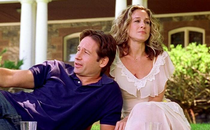 Jeremy och Carrie i SATC