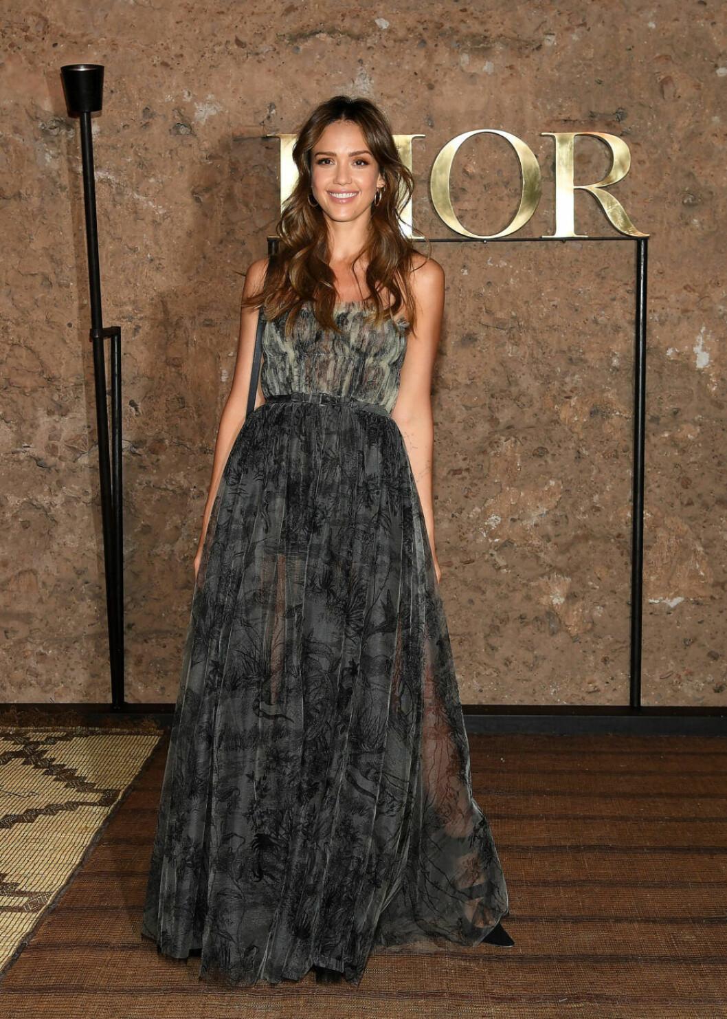 Jessica Alba. Foto: Pascal Le Segretain/Getty Images Dior