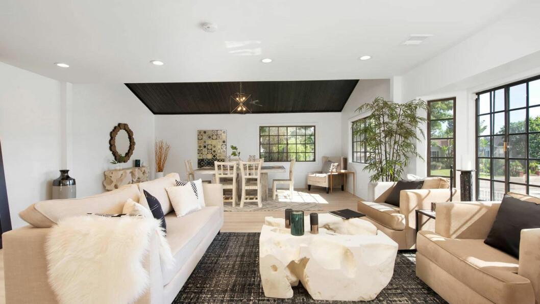 Bild på Jennifer Lopez nya vardagsrum