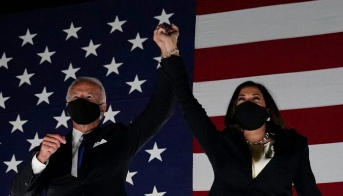 Joe Biden och Kamala Harris.