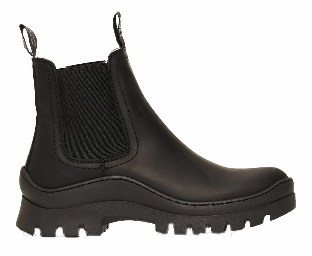 Chunky boots från Johnny Bulls med fodrad insida.