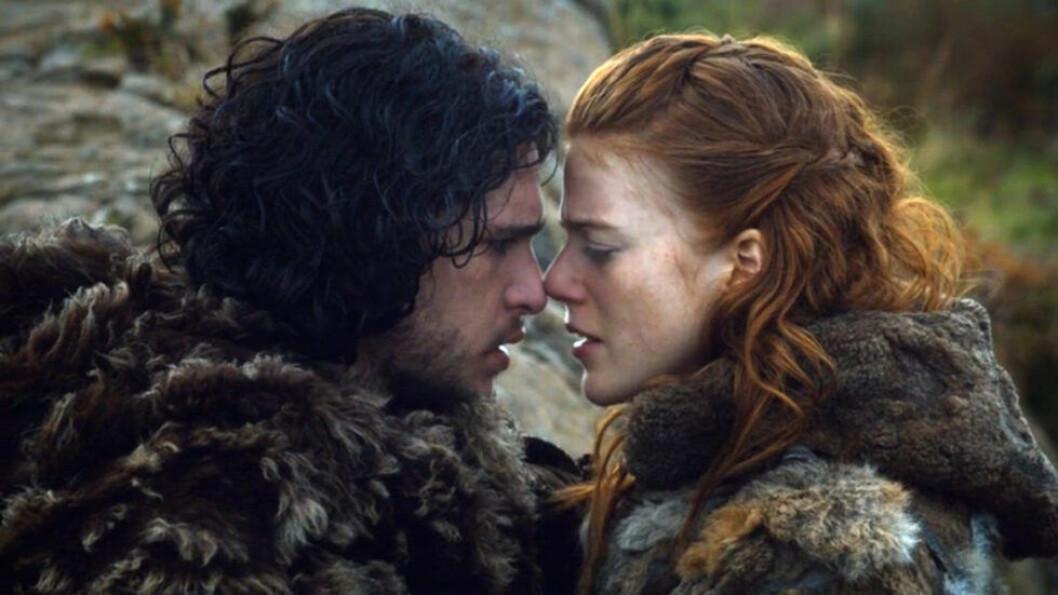 Jon Snow och Ygritte