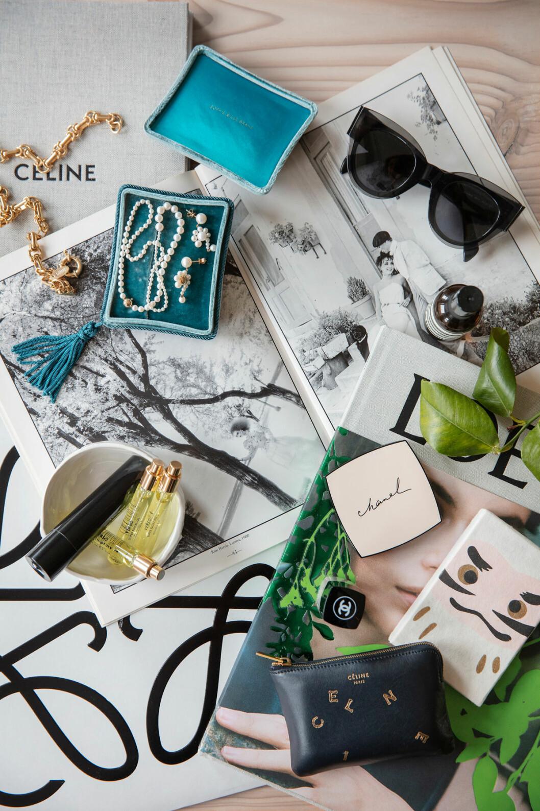 Hemma hos Josephine smycken invitations Elle decoration