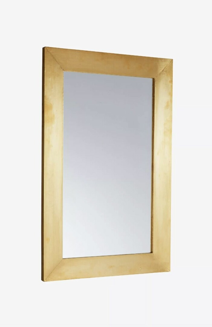 Spegel Cheerie i mässing från Jotex