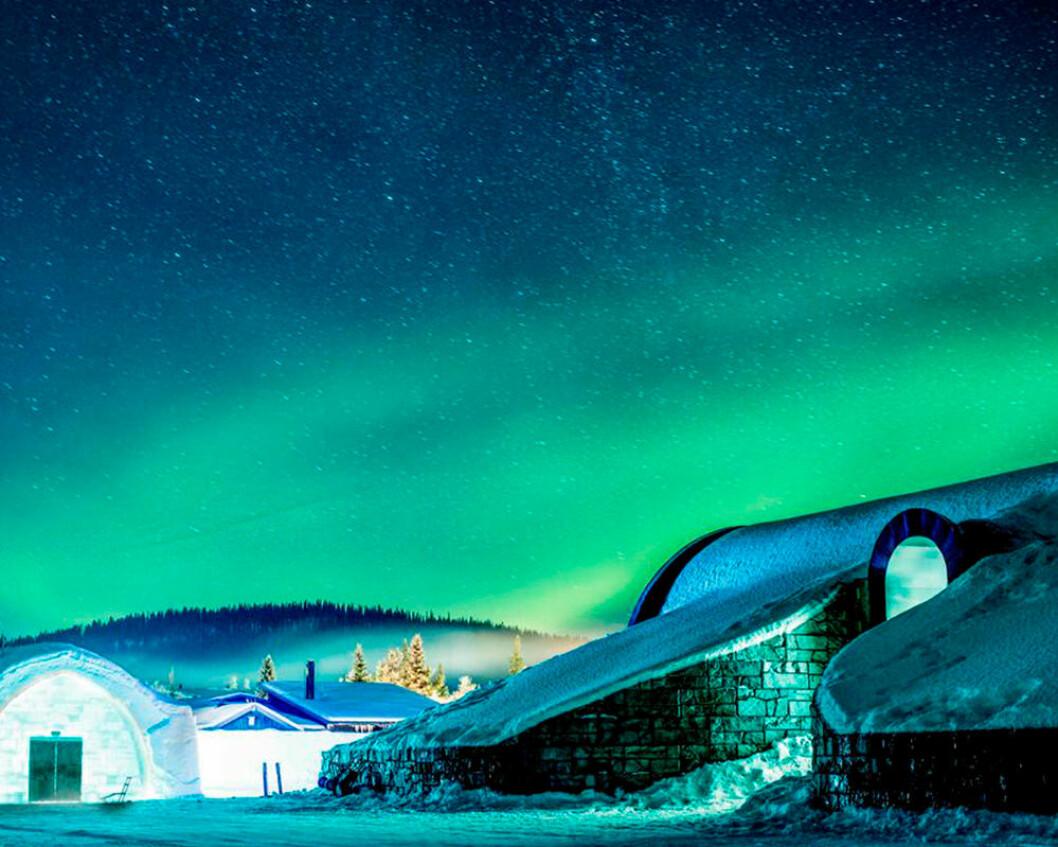 Ishotellet i Jukkasjärvi