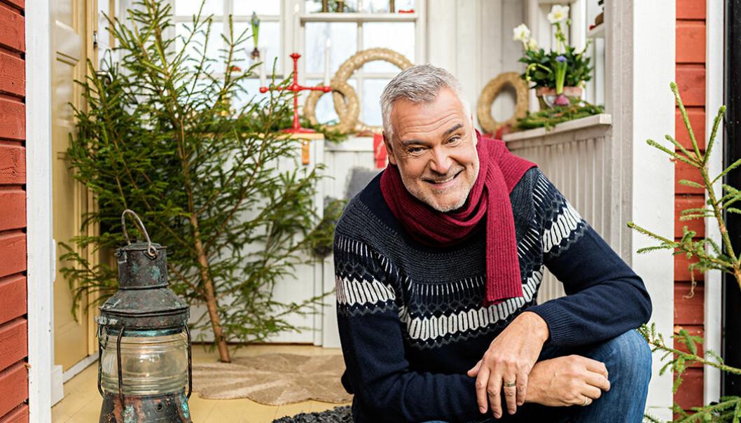 Jul med Ernst Kirchsteiger. Foto: Cecilia Möller/TV4
