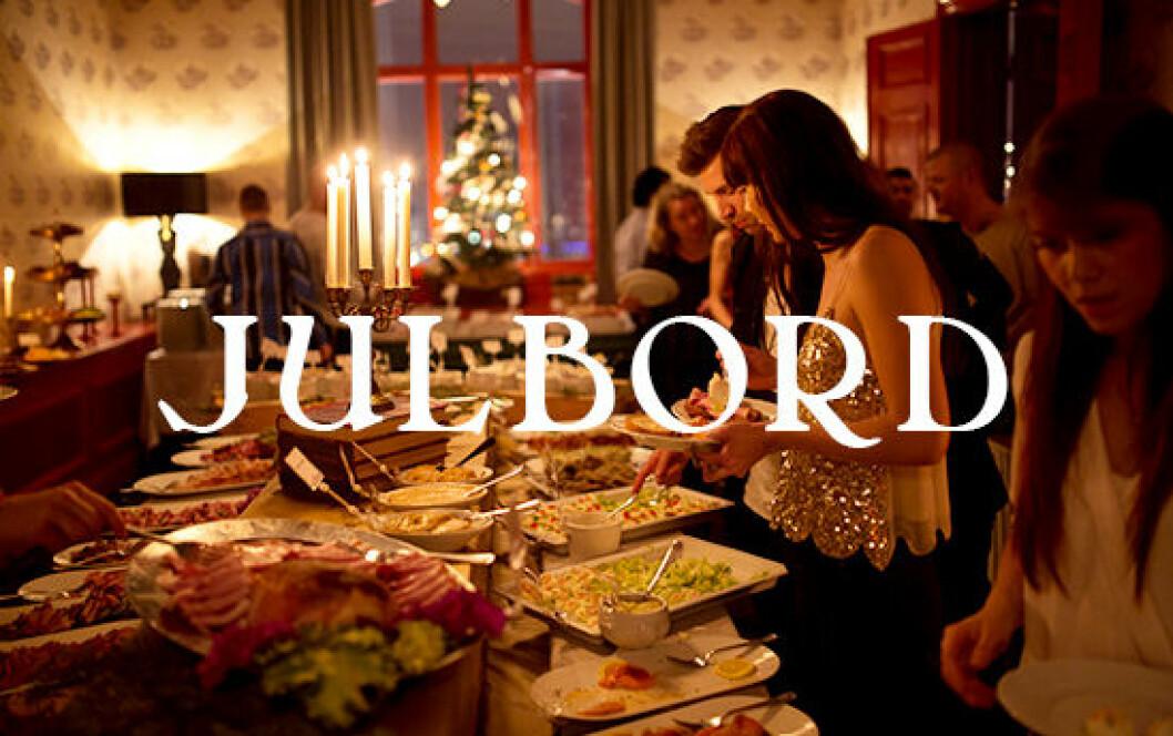 Julbord på Palace i Göteborg.