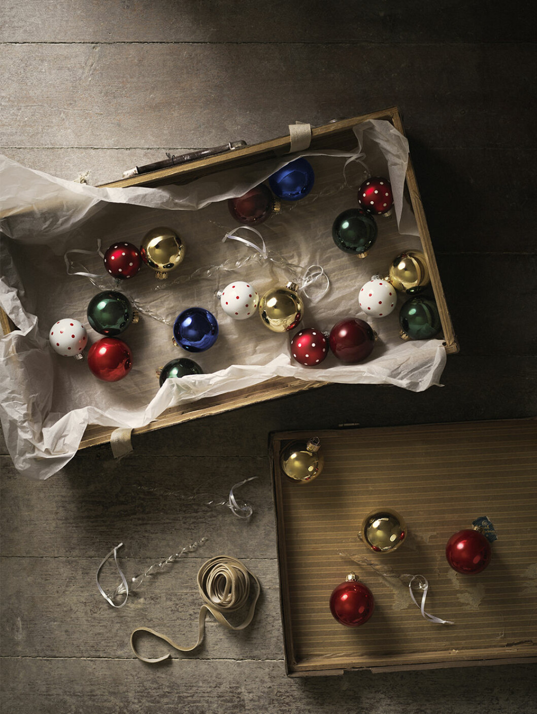 Julgranskulor från ikea
