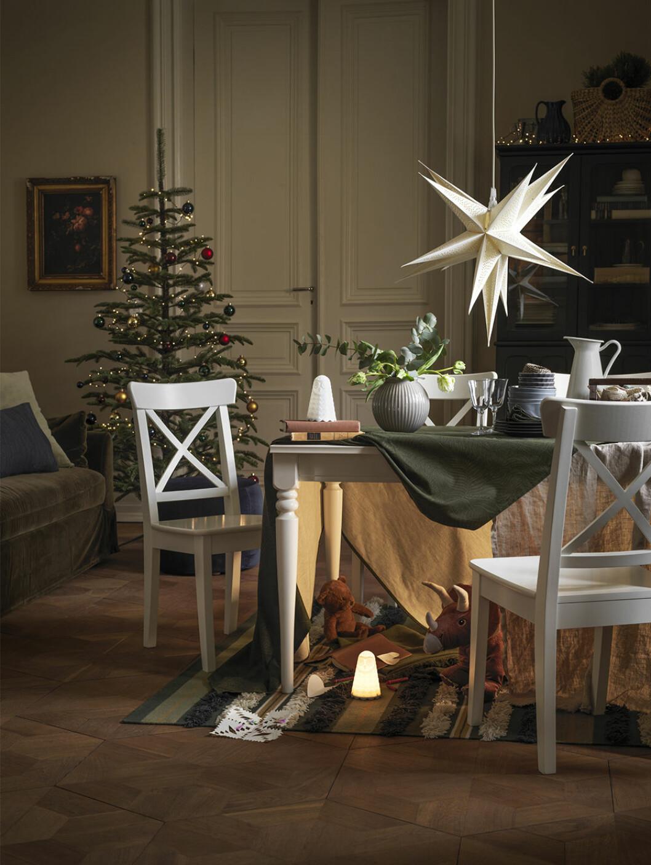 julstämning på Ikea 2020