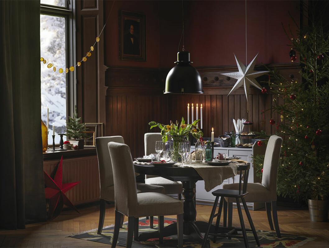 Mysig julstämning på Ikea 2020