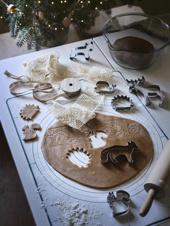 Pepparkaksformar från Ikea julen 2020
