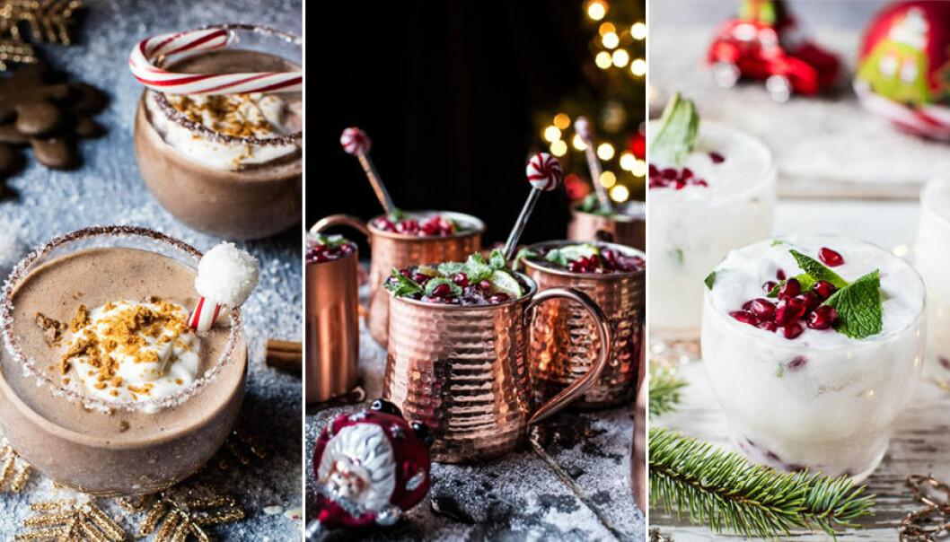 Recept på goda drinkar till julen.