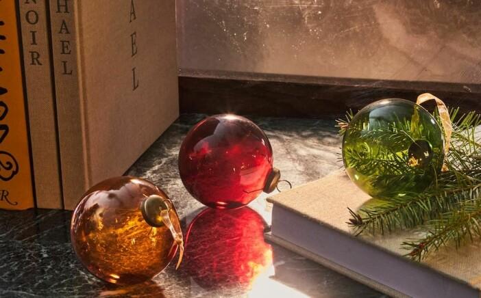 julgranskulor i glas från zara home