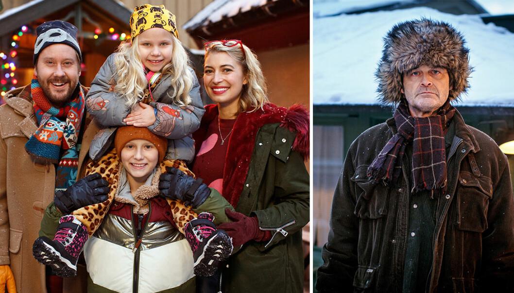 Julkalendern 2018 med Johan Rheborg och Cecilia Forss med flera.