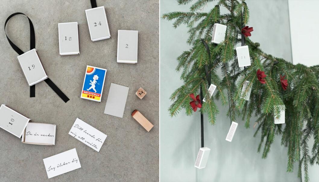 DIY: Julkalender av Helena Nord