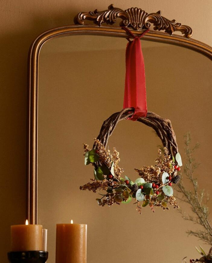 julkrans inomhus