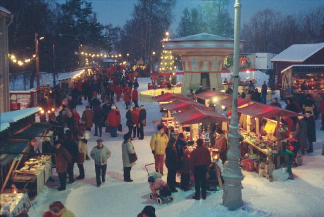 Jamtli julmarknad. Foto: Bengt Weilert