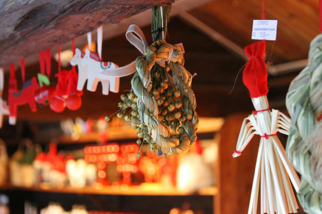 Julmarknad på Skansen. Foto: Maria Johansson