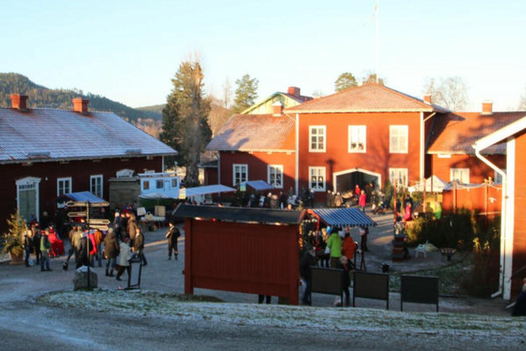 Stenegård julmarknad. Foto: Glenn Glicko Andersson
