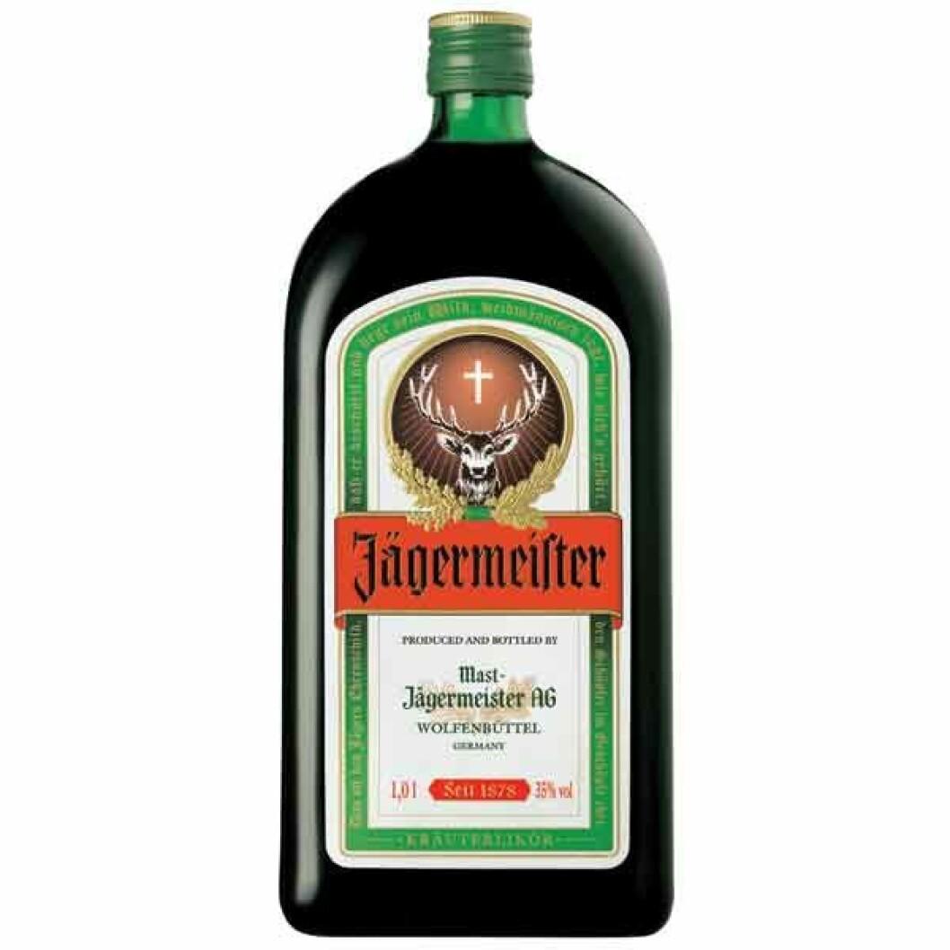Julmust med Jägermeister.