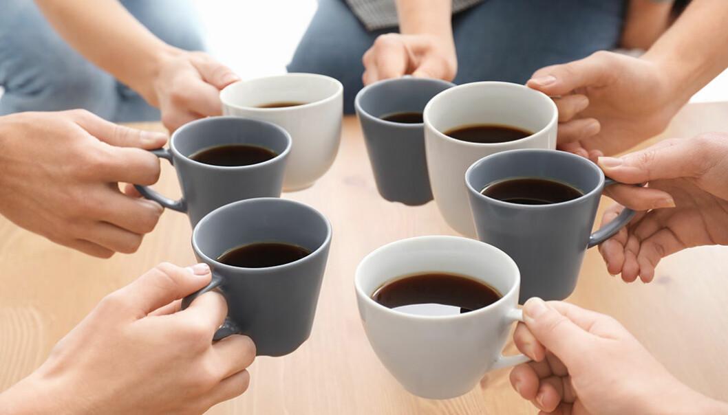 Hur många koppar kaffe dricker du om dagen?
