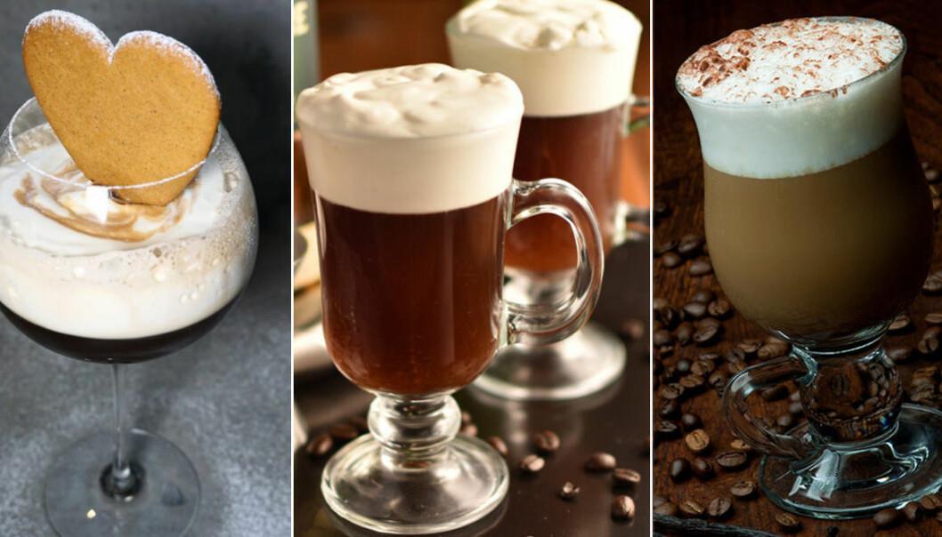 Recept på de trendigaste kaffedrinkarna